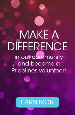 Volunteer for Pridelines